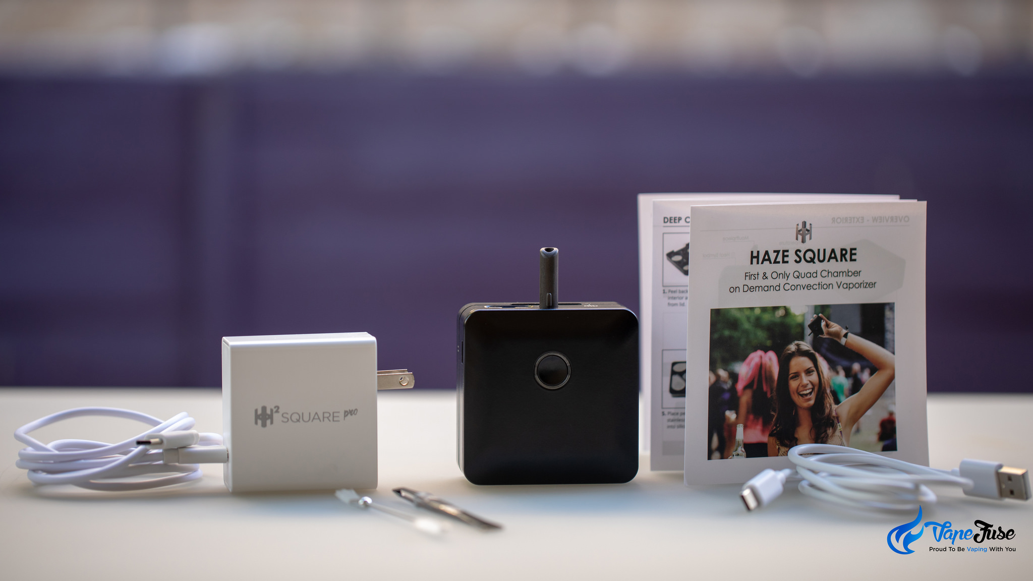 Haze Square Vape full kit