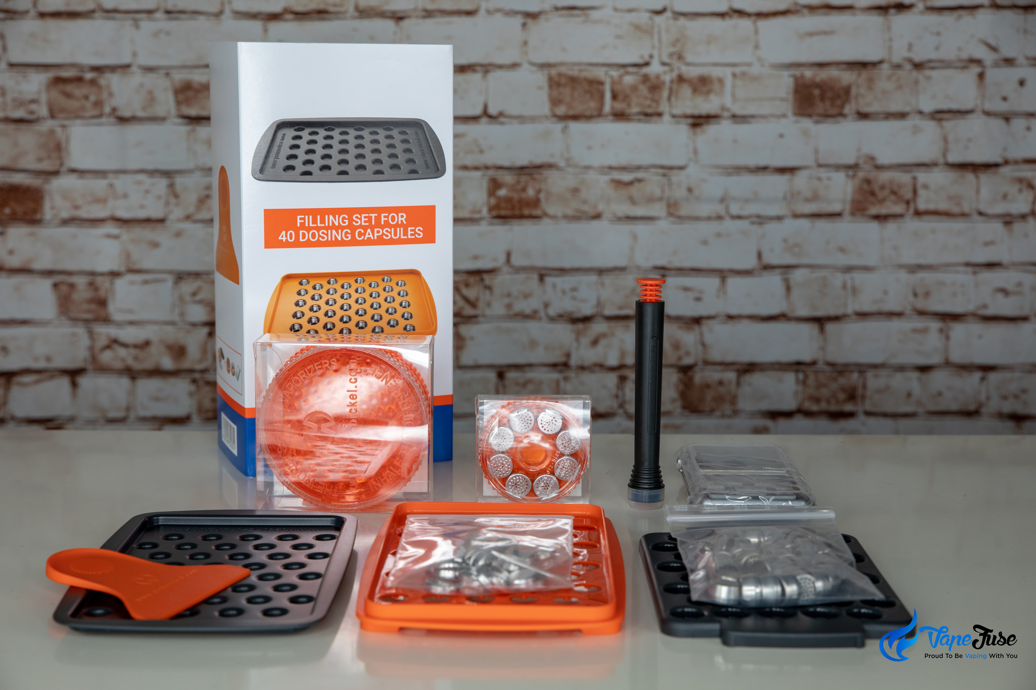 Storz & Bickel 40-piece Filling Set full kit