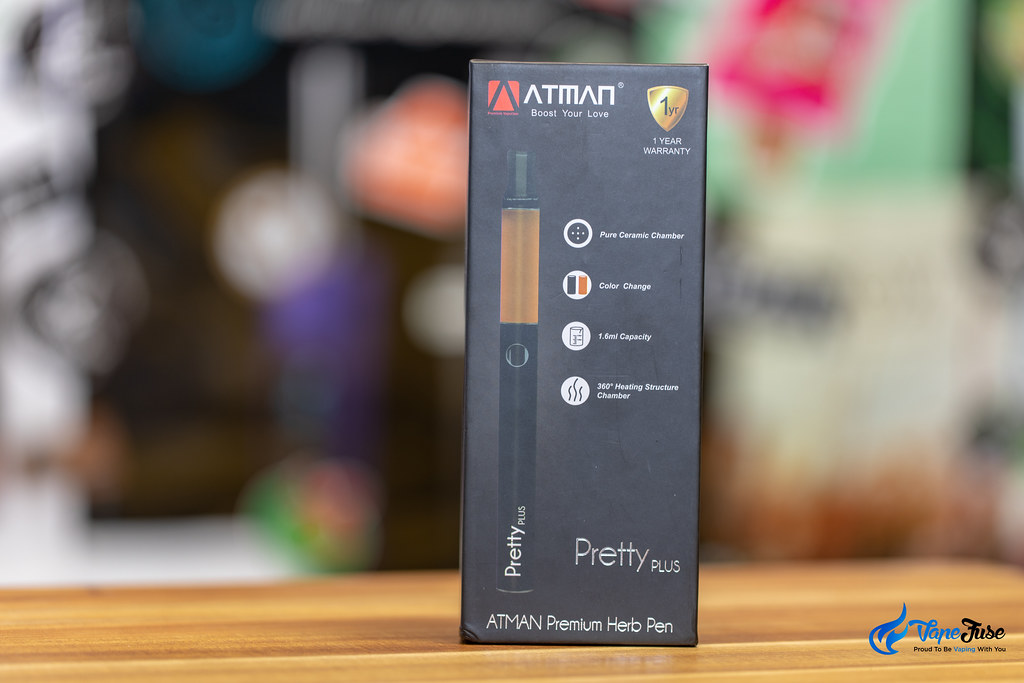 Atman Pretty Plus 510 Thread Herbal Vaporizer Box
