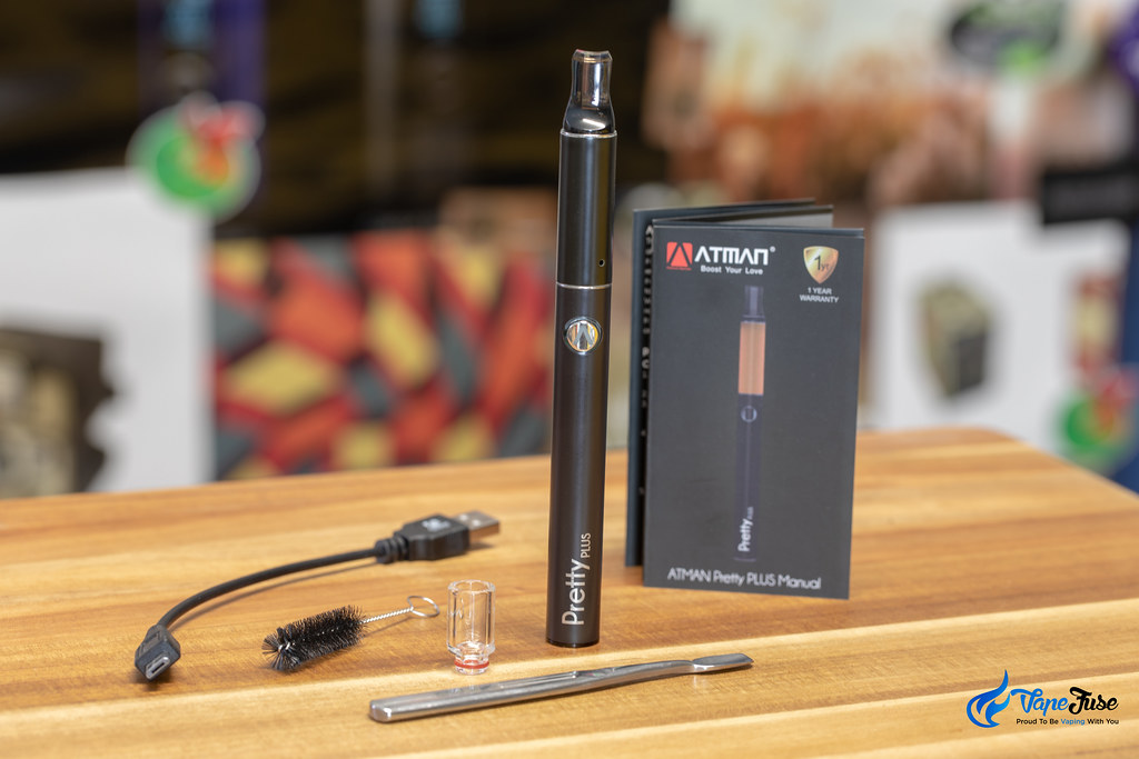 Atman Pretty Plus 510 Thread Herbal Vaporizer What's in the Box