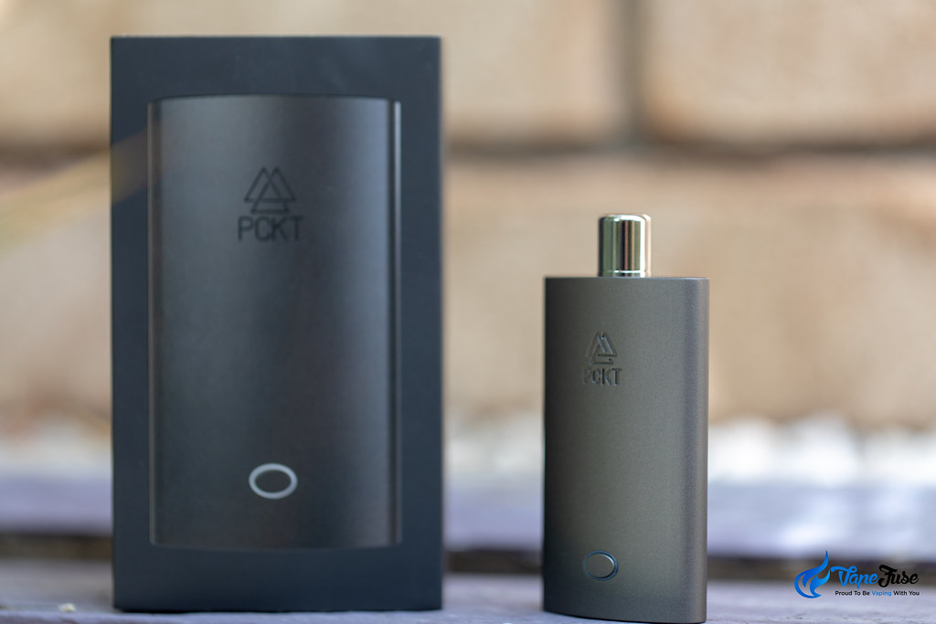 PCKT One Plus Box and Vaporizer